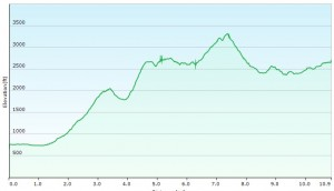 Elevation Profile Day 1
