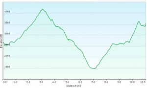 Elevation Profile Day 2