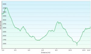 Elevation Profile Day 3