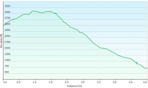 Elevation Profile Day 4